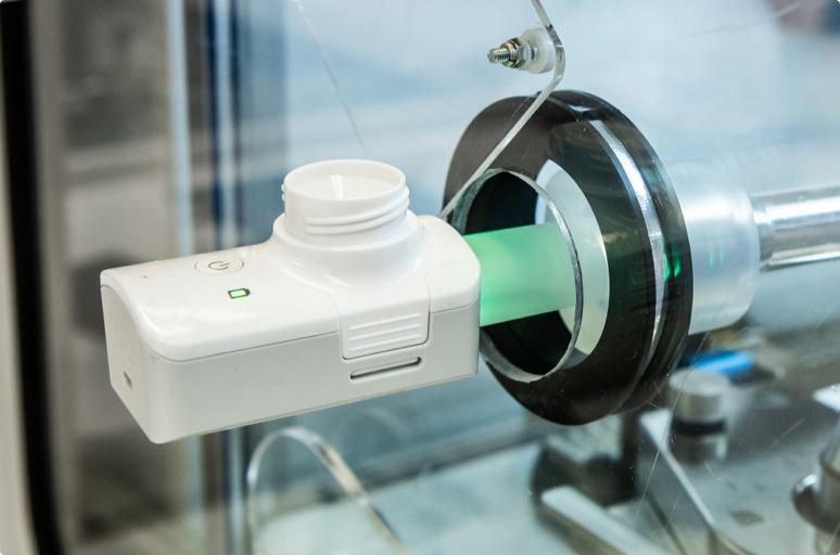 Taking a Breath: Advances in Inhaled Biologics Fox Device